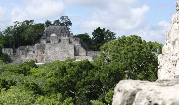 Calakmul, Mayan Ruins Deep in the Jungles of Campeche