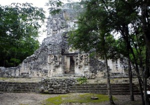 """Mayan """"Little House on the Mouth of the Serpent"""""""